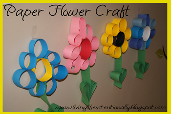 Flower Craft For Preschoolers